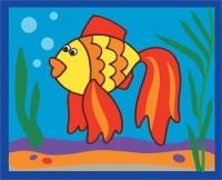 Картинка из песка. Рыбка